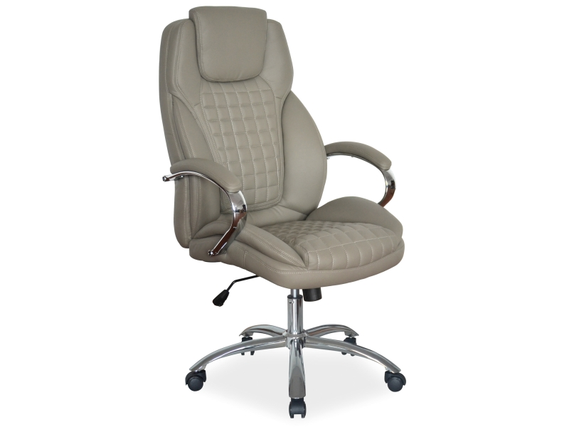 Signal Kancelárska stolička Q-151 sivé