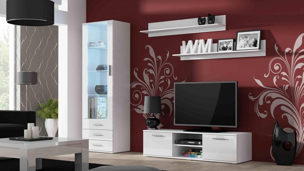 Artcam Obývacia stena Soho 7 Farba: Biela/biely lesk