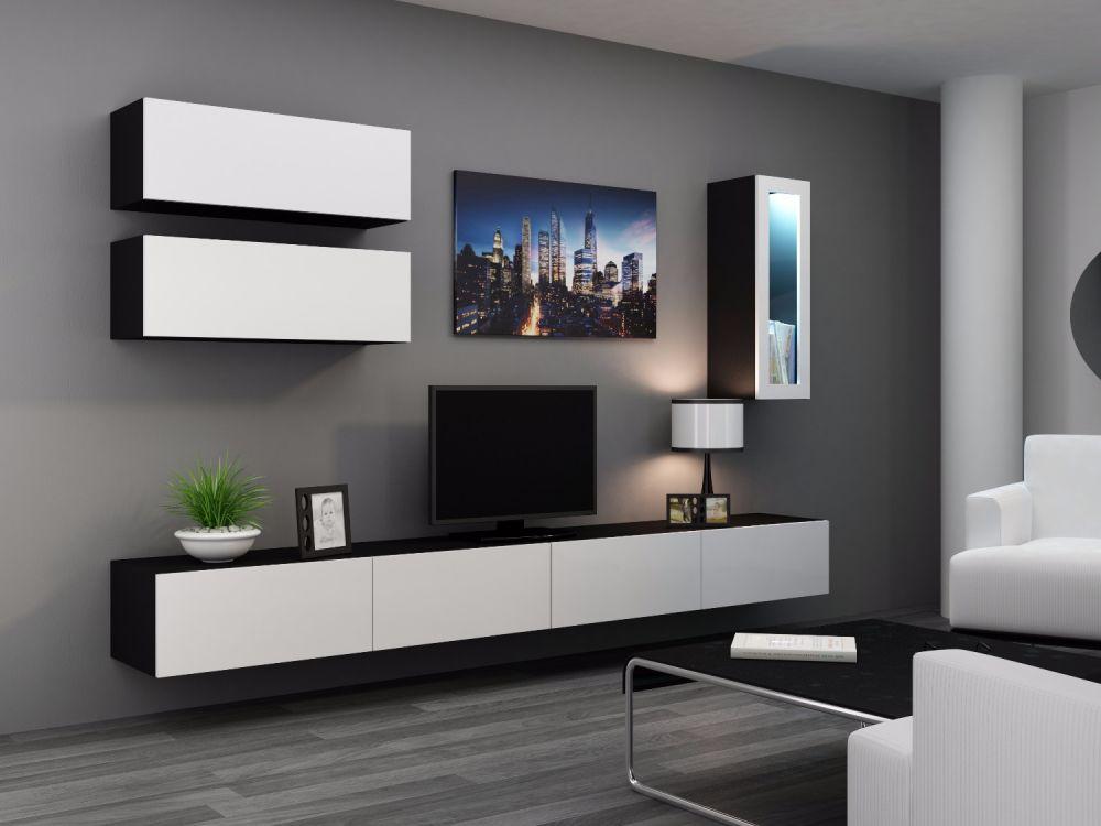 Artcam Obývacia stena Vigo 12 čierna/biela