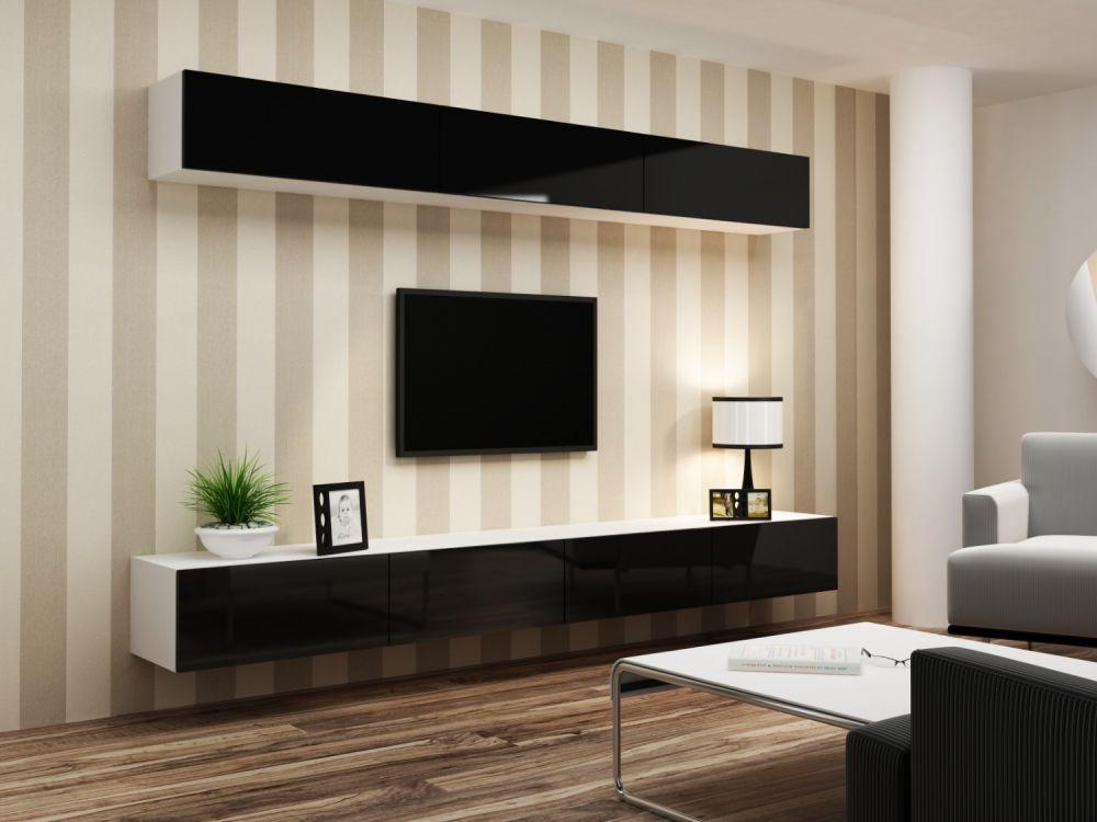 Artcam Obývacia stena Vigo 13 biela/čierna