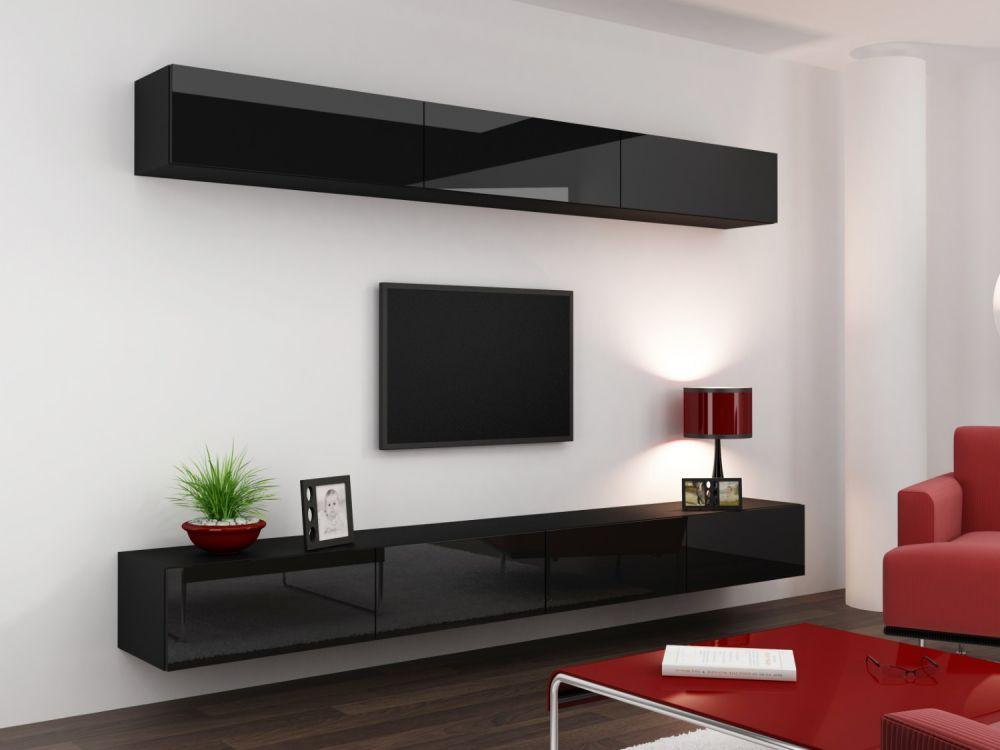 Artcam Obývacia stena Vigo 13 čierna