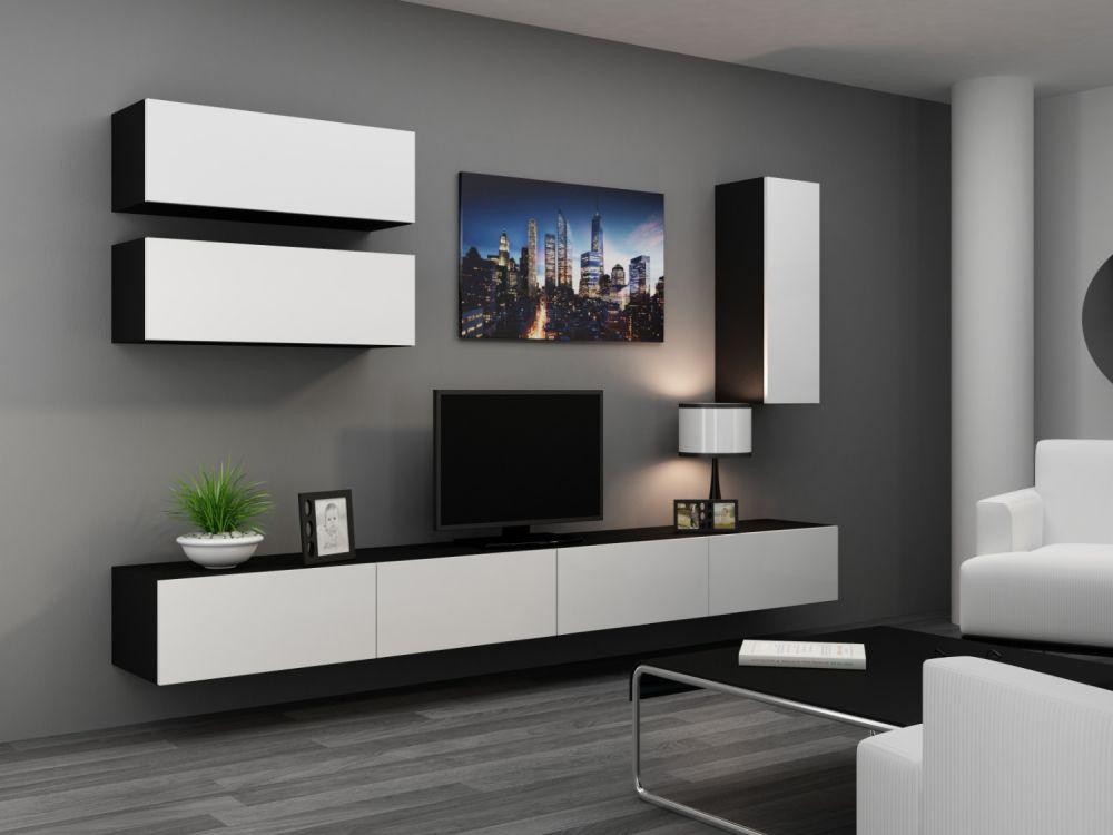 Artcam Obývacia stena Vigo 13 čierna/biela