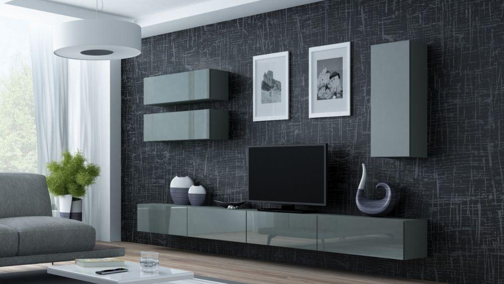 Artcam Obývacia stena Vigo 13 sivá