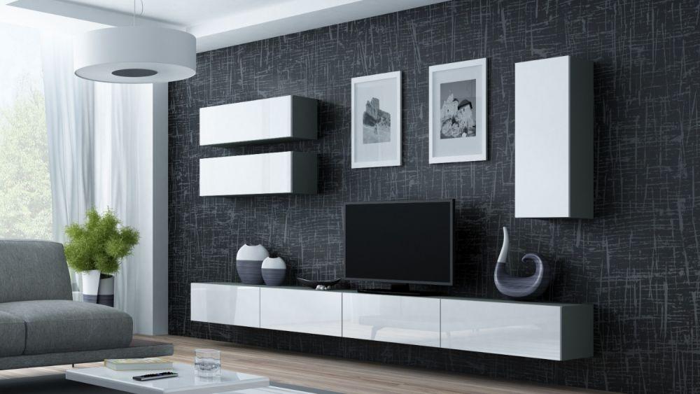 Artcam Obývacia stena Vigo 13 sivá/biela