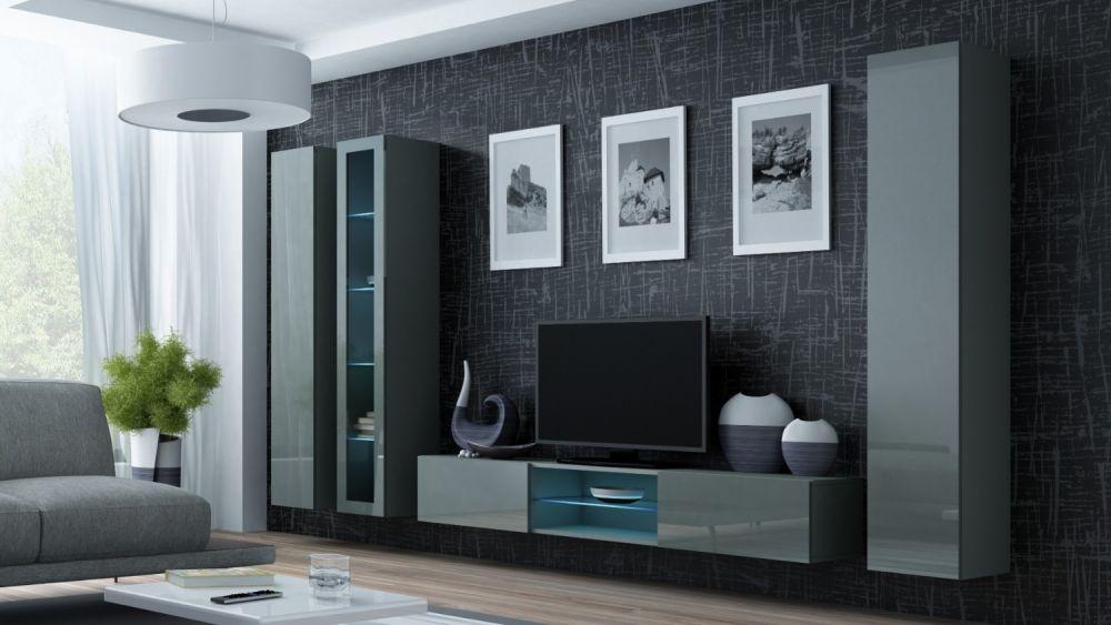 Artcam Obývacia stena Vigo 17 sivá