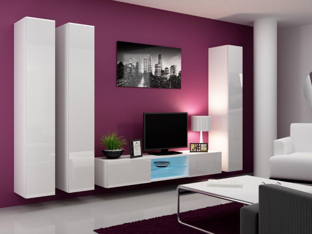 Artcam Obývacia stena Vigo 18 biela