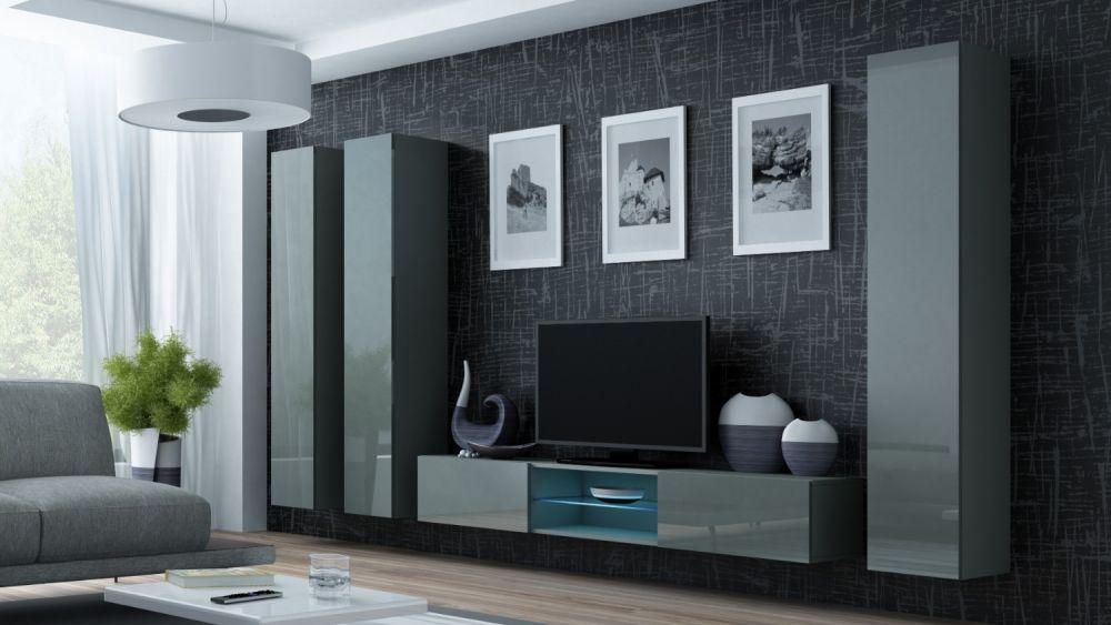 Artcam Obývacia stena Vigo 18 sivá