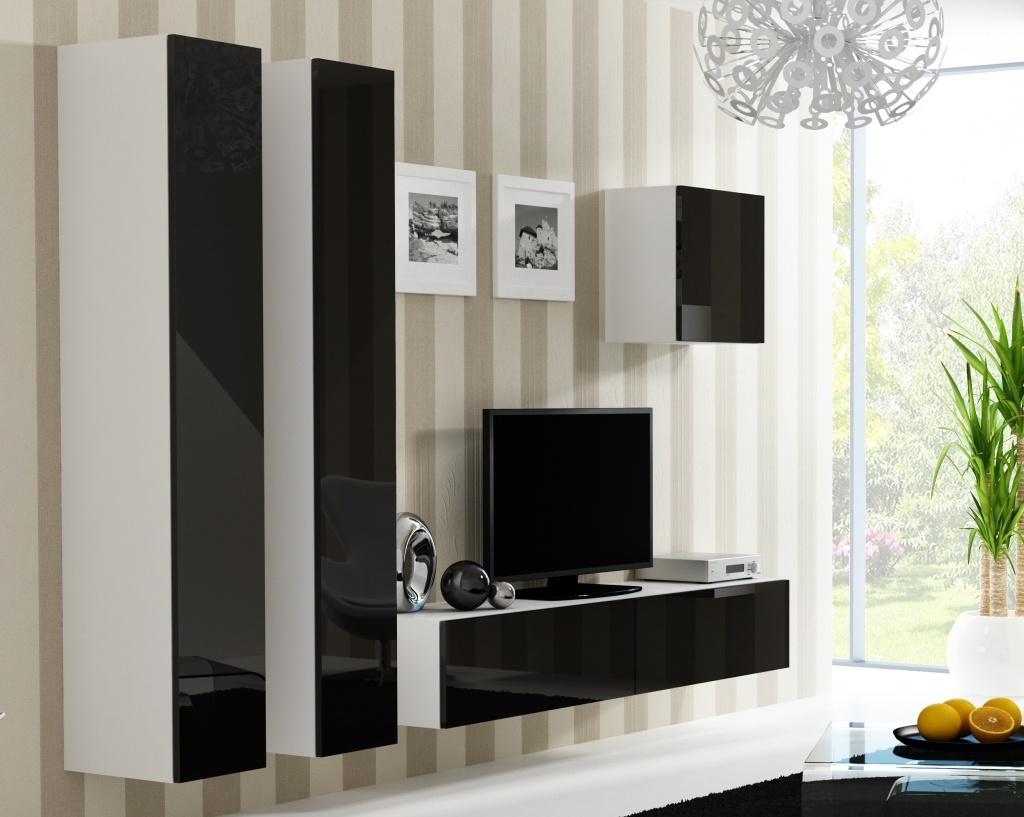 Artcam Obývacia stena Vigo 25 biela/čierna