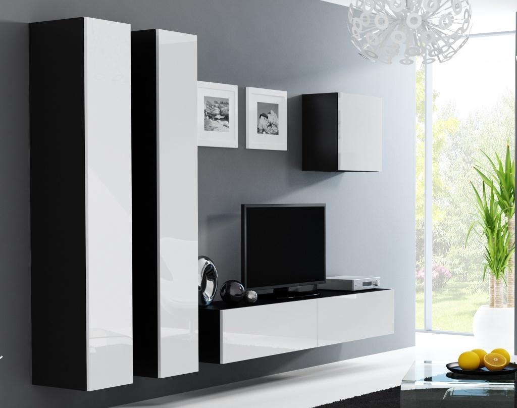 Artcam Obývacia stena Vigo 25 čierna/biela