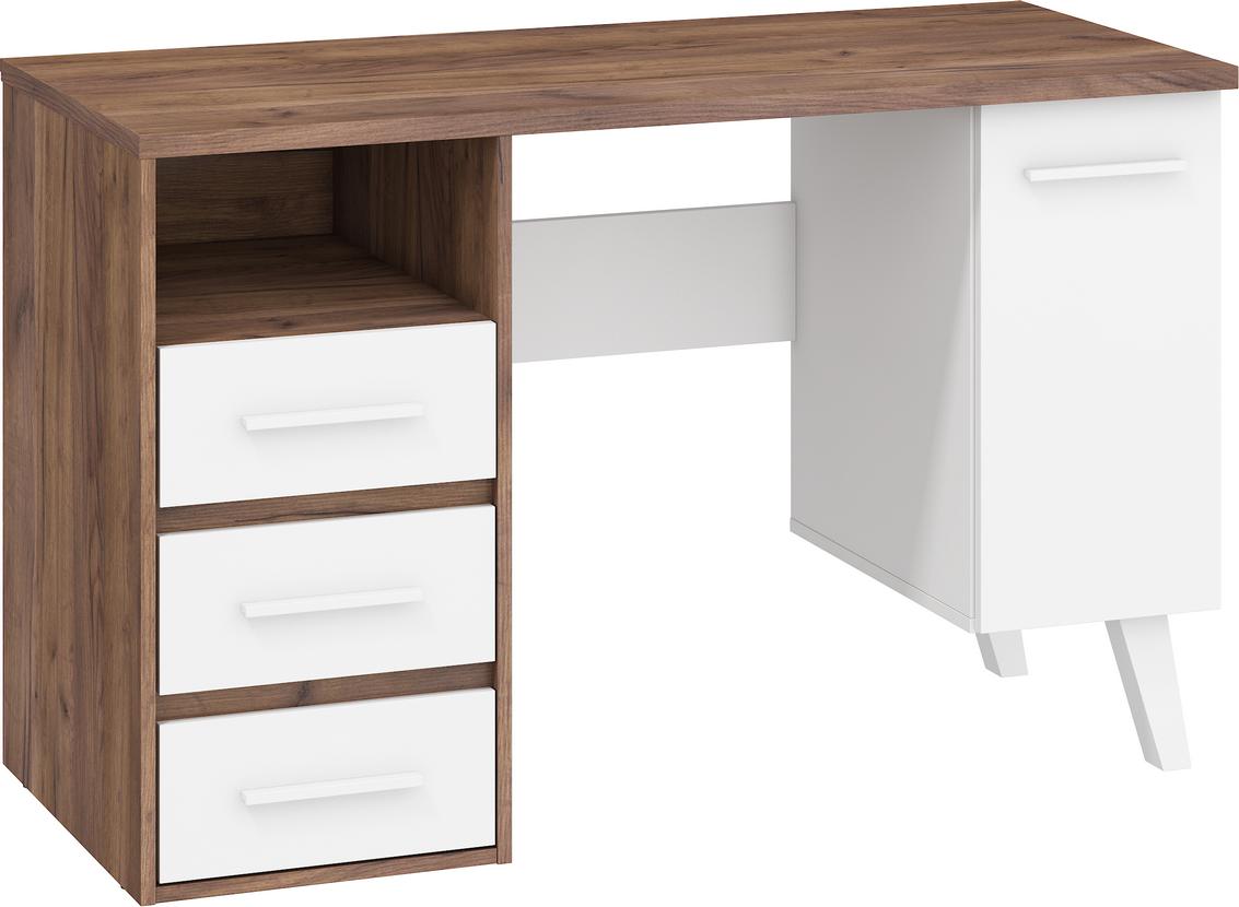 WIP PC stôl NORDIS-01/1D1S Farba: craft tobaco/biely