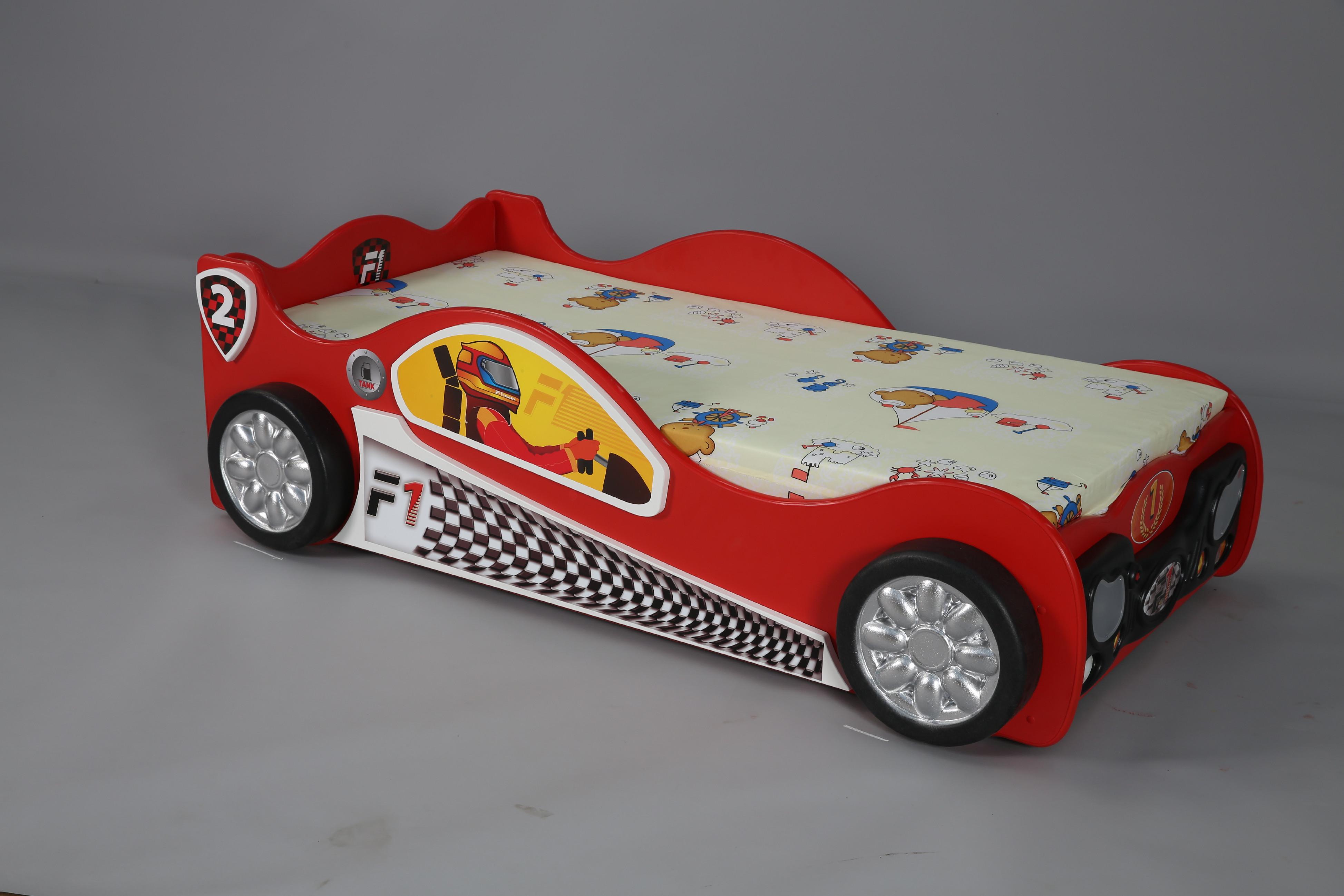Artplast Detská posteľ formulka Monza Mini Farba: Červená