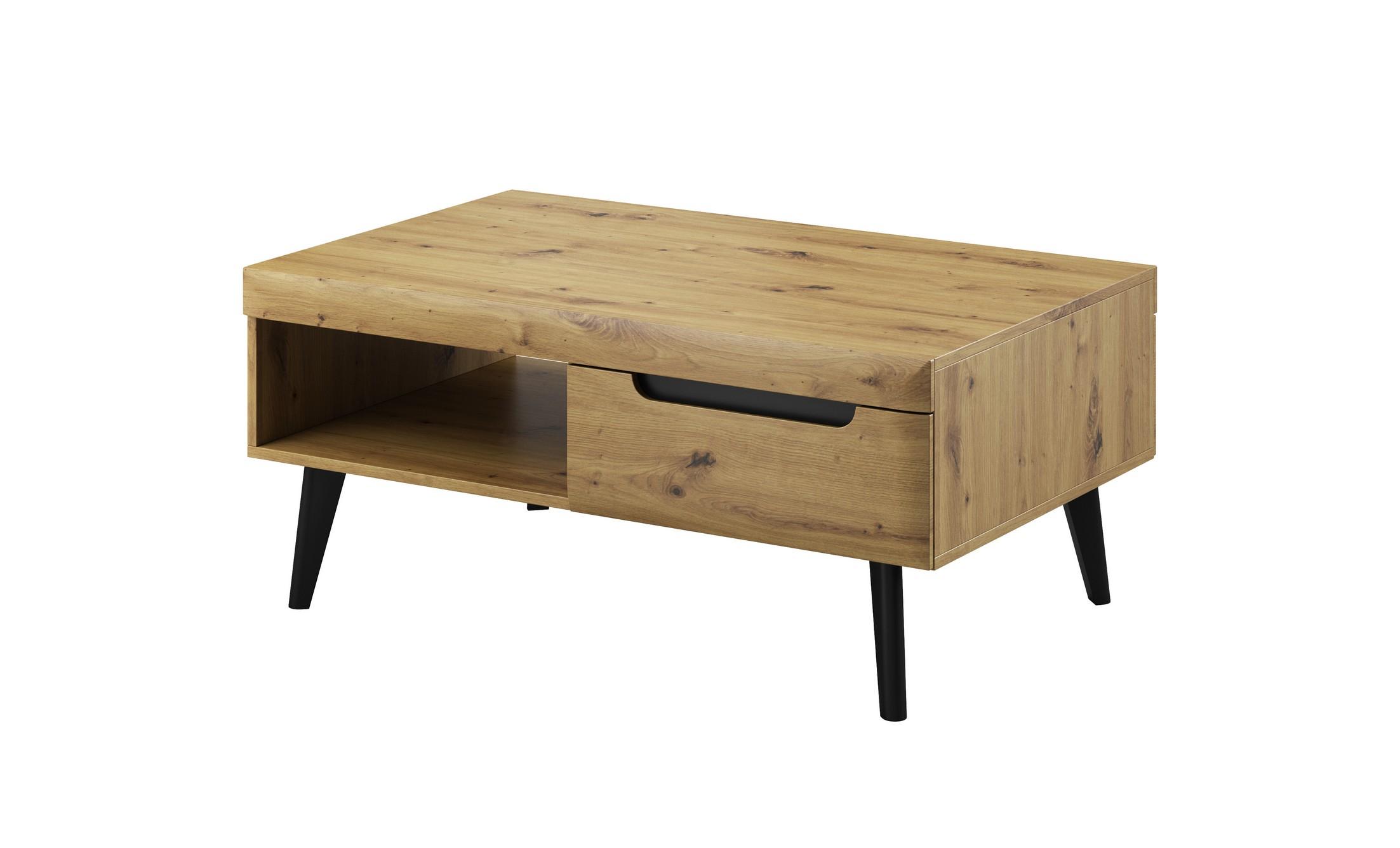 Piaski Konferenčný stolík Nordi NL107 Farba: Dub artisan