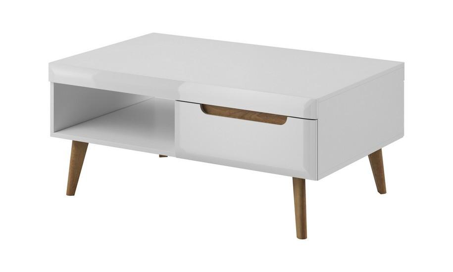 Piaski Konferenčný stolík Nordi NL107 Farba: Biela