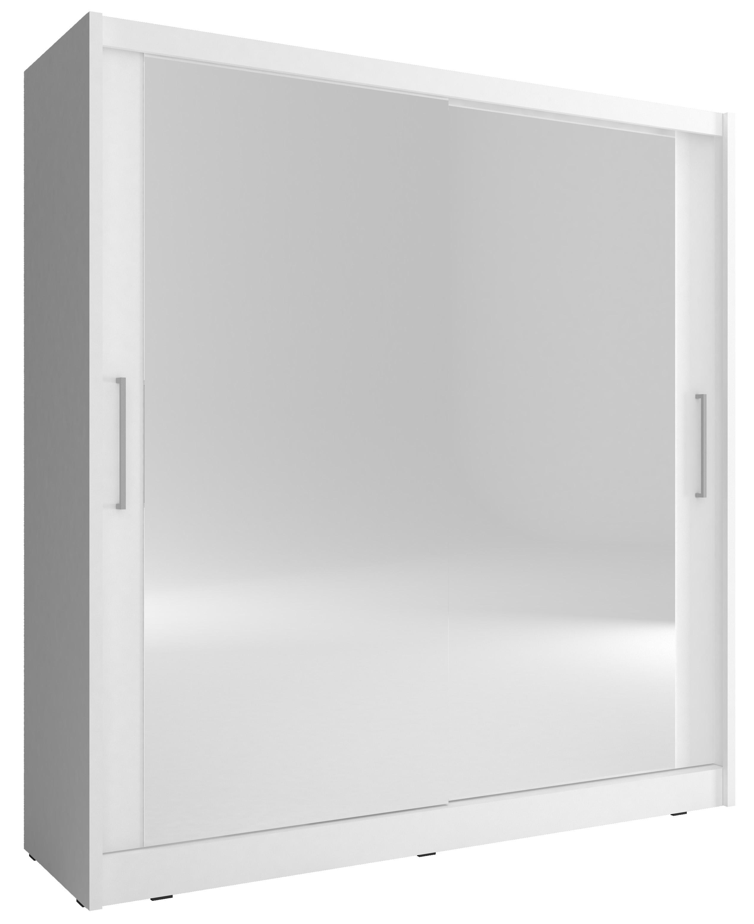 Piaski Šatníková skriňa MAJA VI 180 Farba: Biela