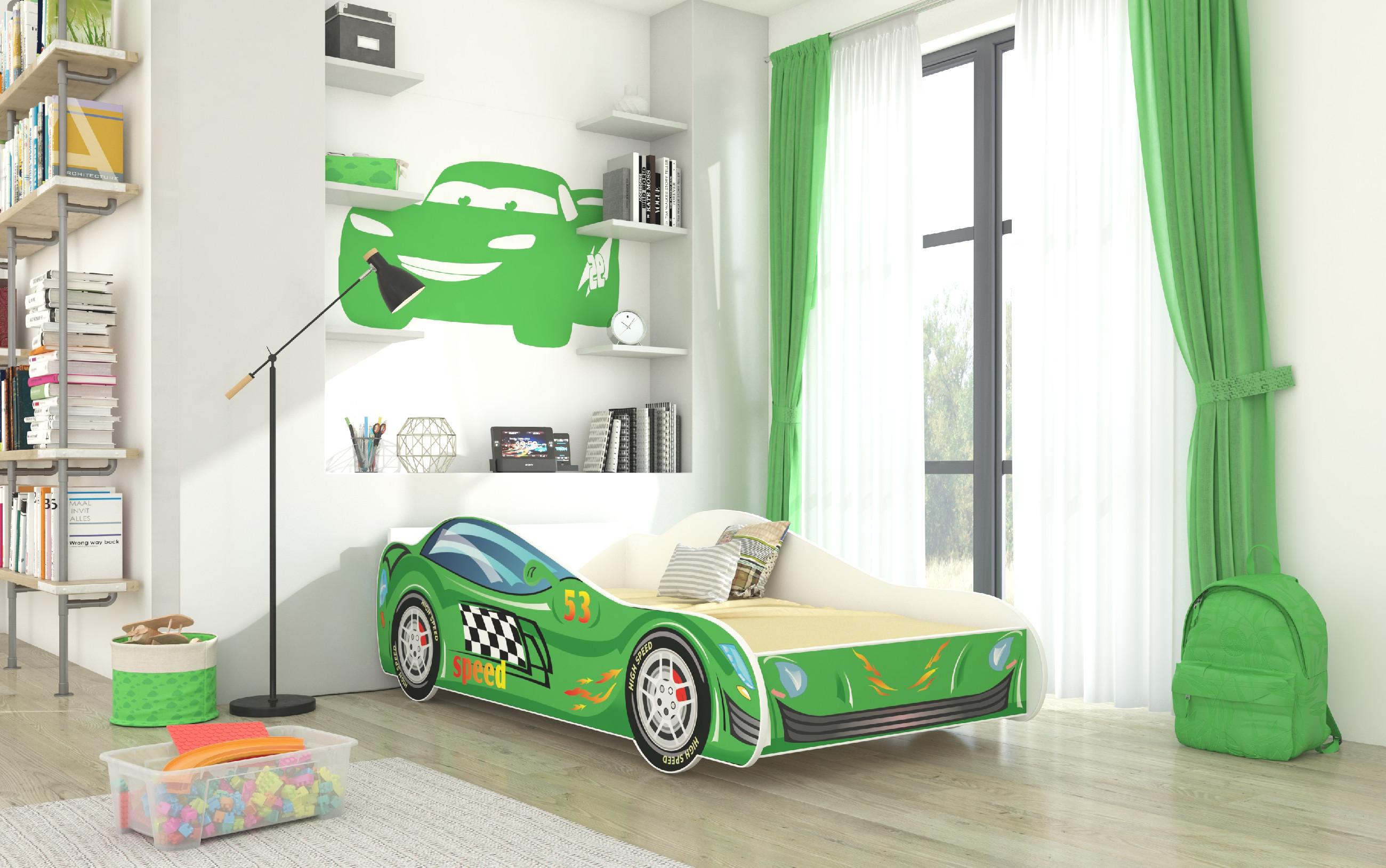 ArtAdr Detská auto posteľ SPEED Prevedenie: 70 x 140 cm