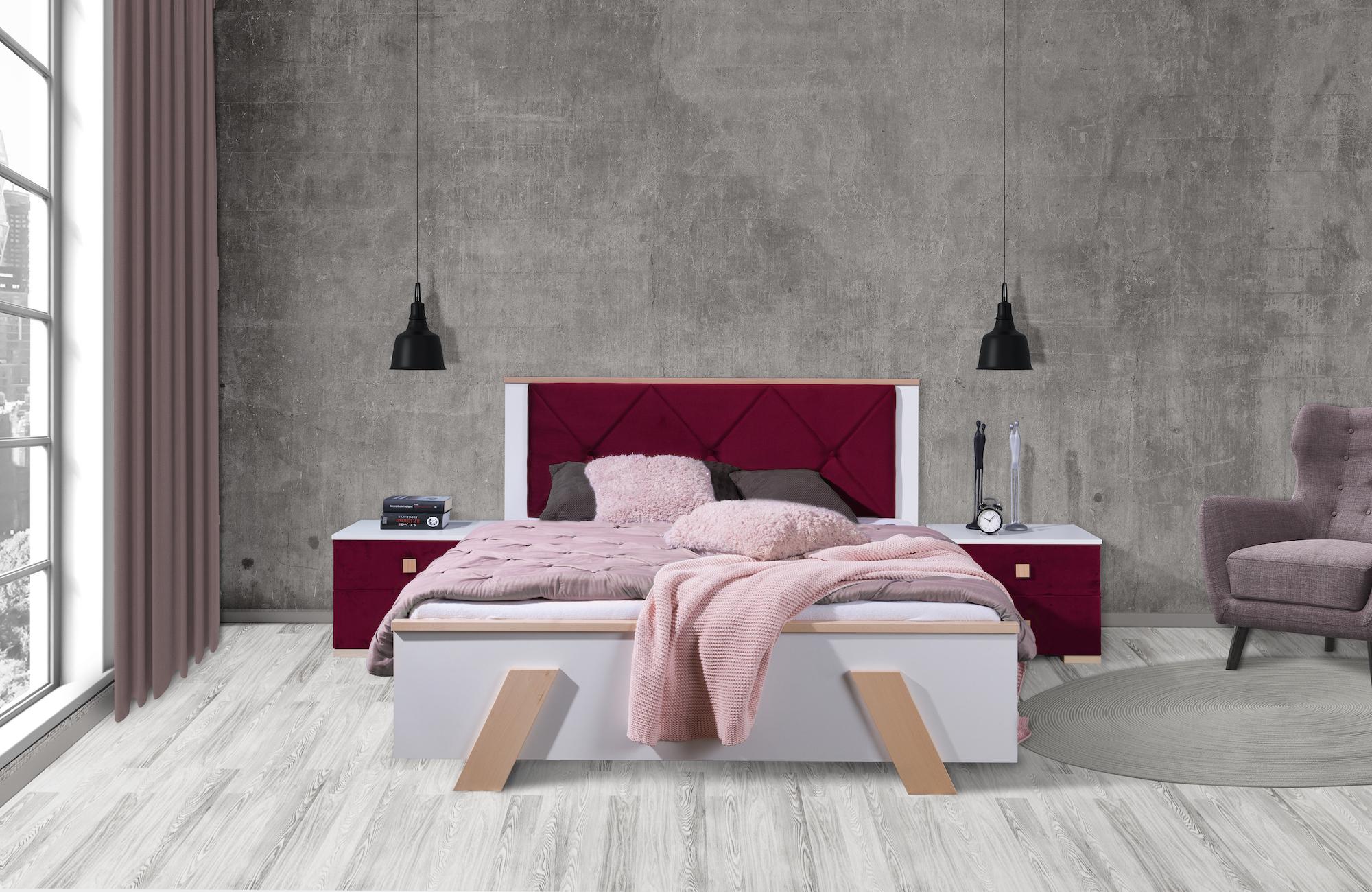 ArtBed Manželská posteľ Arona Prevedenie: 160 x 200 cm