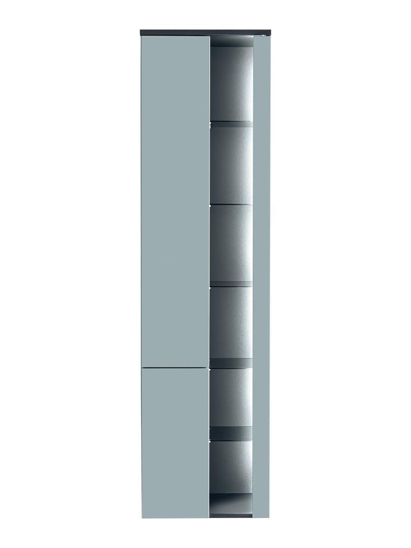 ArtCom Kúpeľňová zostava BAHAMA Mint Bahama: vysoká skrinka 800   170 x 45 x 33 cm