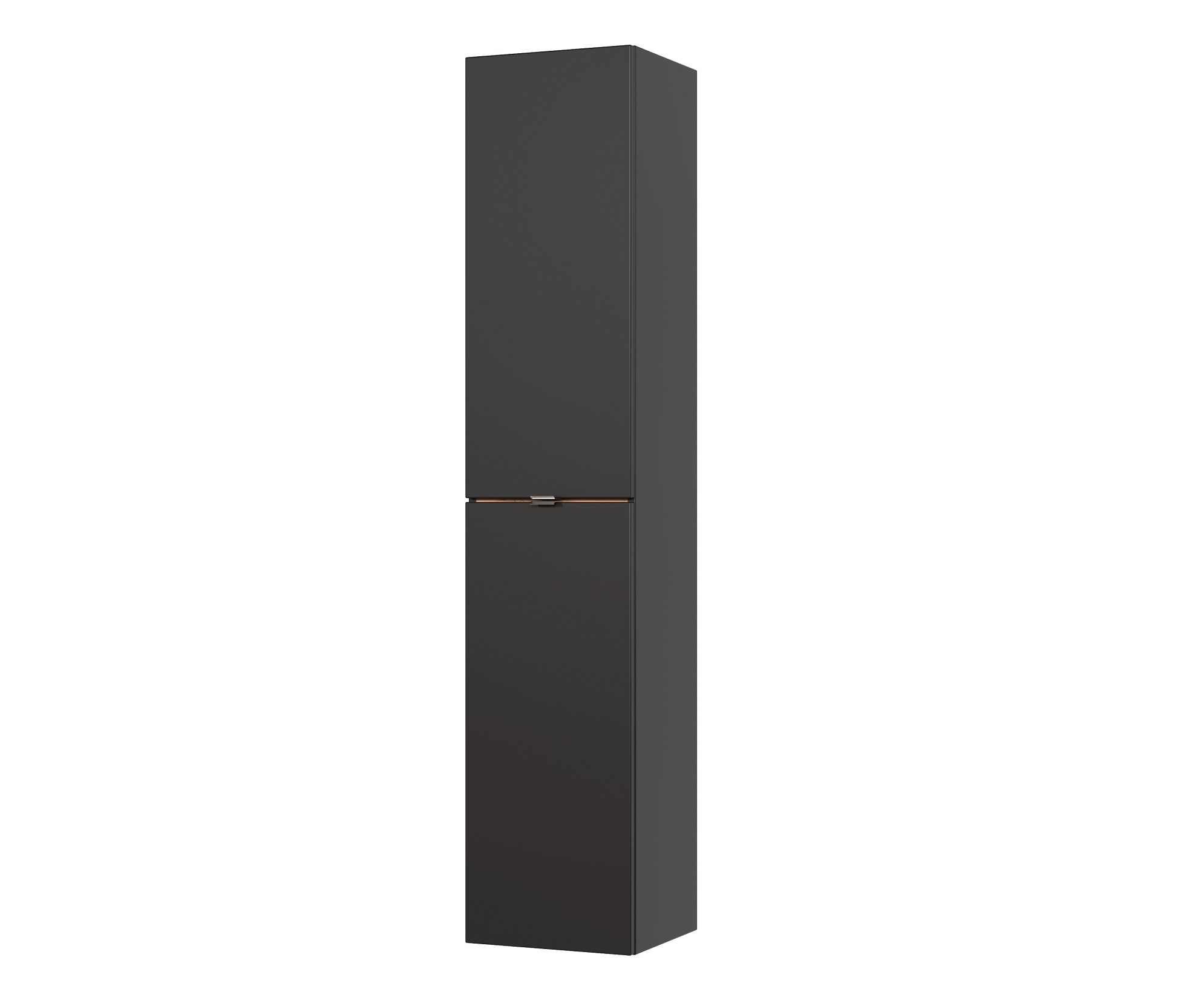 ArtCom Kúpeľňová zostava Capri Cosmos | čierny mat Capri Cosmos | čierny mat: Vysoká skrinka 800