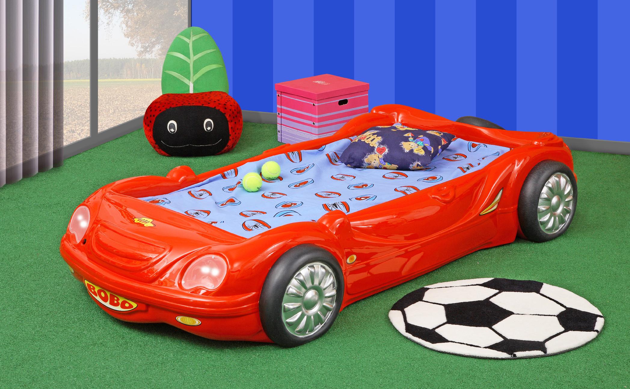 Artplast Detská posteľ Bobo červená