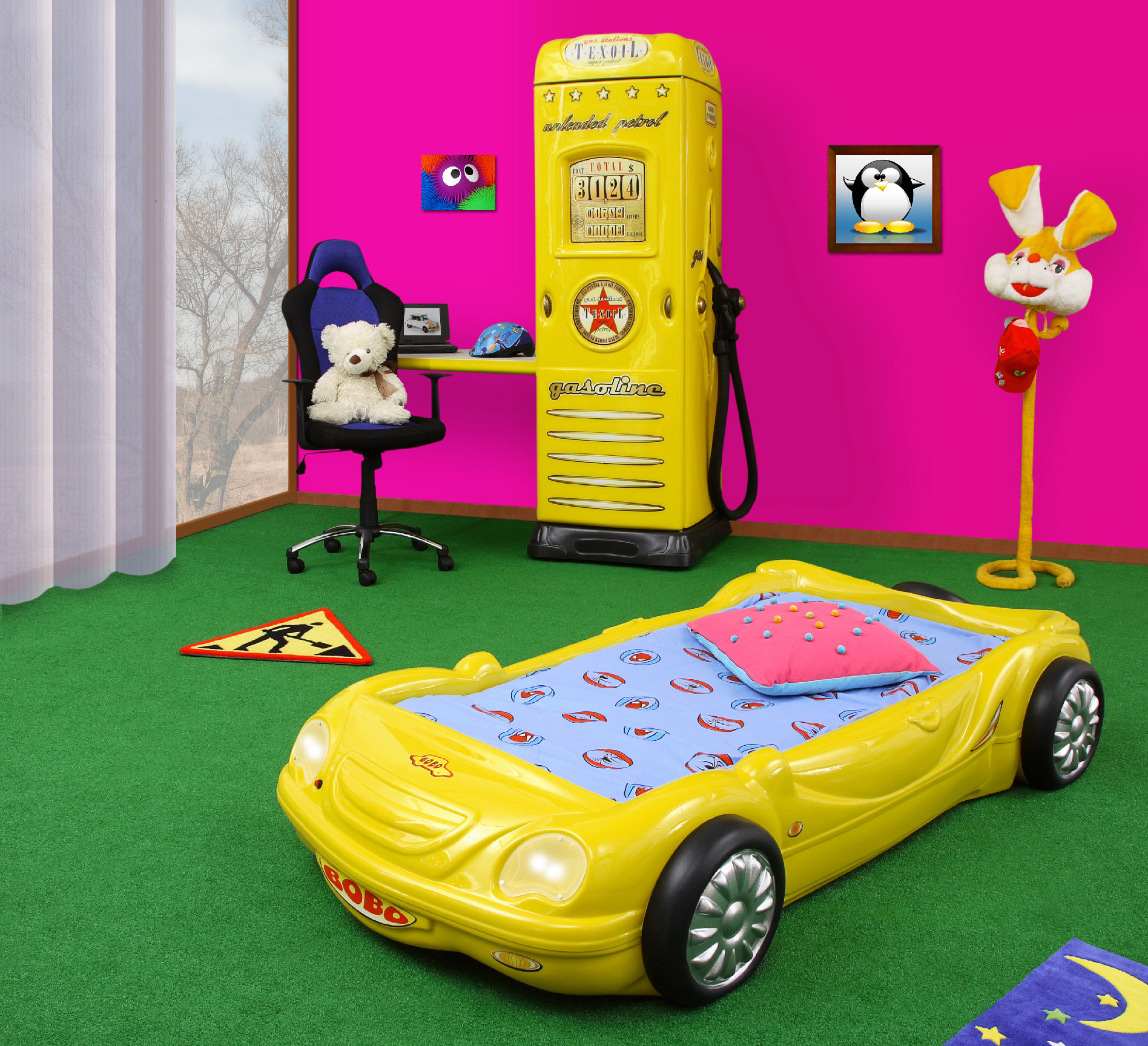 artplast-detska-postel-bobo-zlte