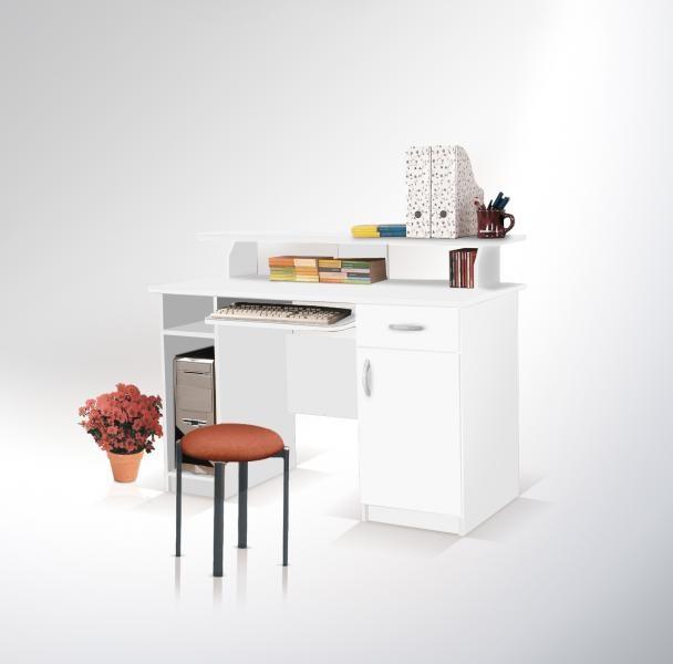ArtMadex Písací stolík Max Max: Písací stolík Max biela