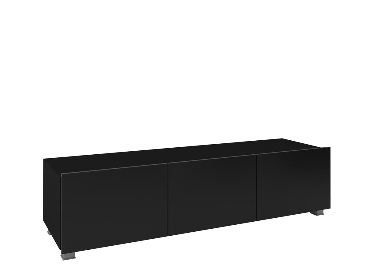 ArtElb TV skrinka 150 CALABRINI Farba: čierna / čierny lesk