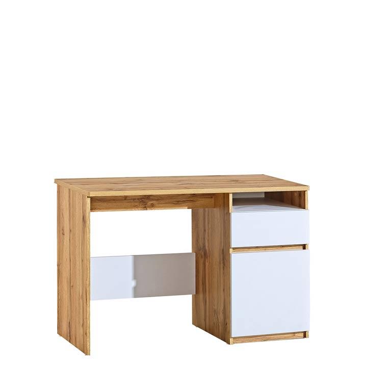 Dolmar Písací stolík Arca Ar7 Farba: dub wotan / biela