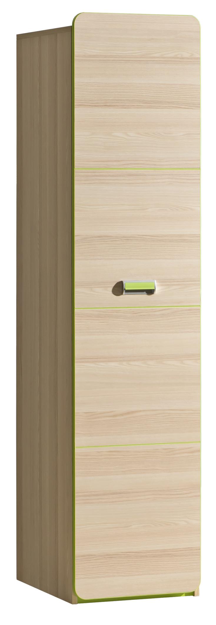 Dolmar Skriňa Lorento L2 Farba: Jaseň coimbra / zelená