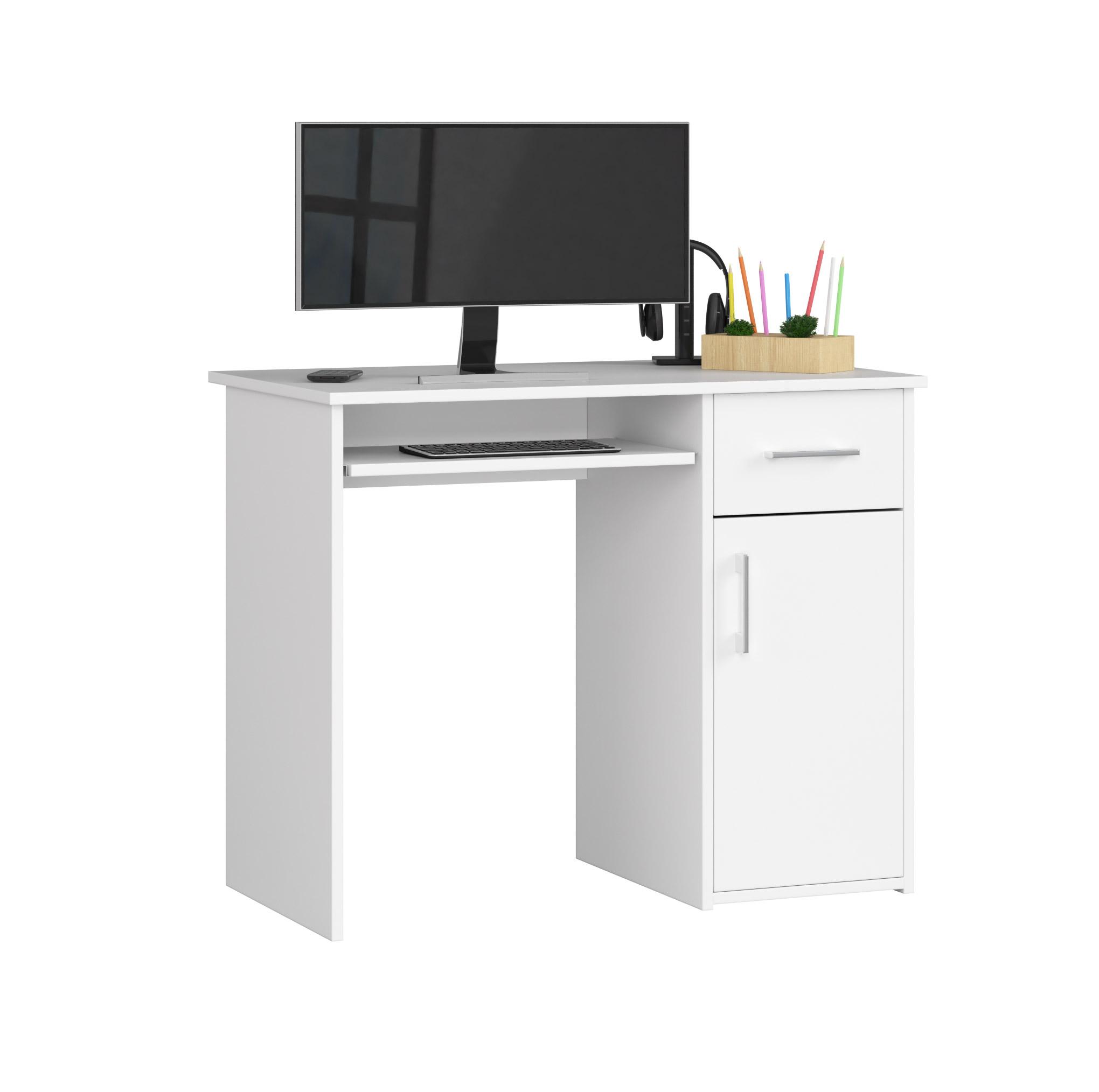 ArtAko Písací stolík Pin Farba: Biela