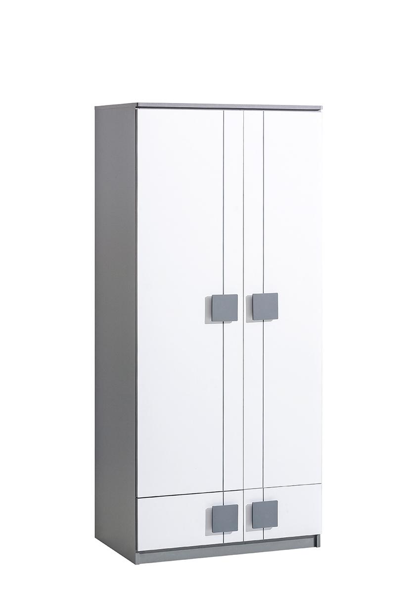 Dolmar Skriňa Gumi G1 Farba: Sivá / biela