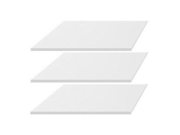 BRW Police do skrine: KIOTO - SZF2D1S (3ks) Farba: biely