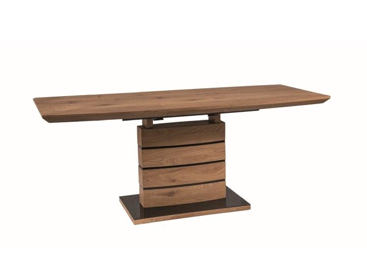 Signal Rozkladací jedálenský stôl Leonardo DUB Prevedenie: 140 (180) x 80 cm