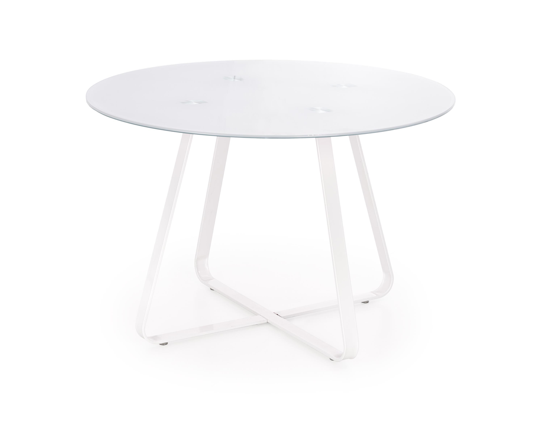 Halmar Jedálenský stôl Looper biely