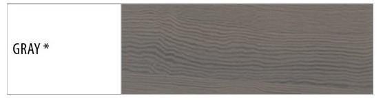 Drewmax Manželská posteľ - masív LK111 | 140cm buk Morenie: Gray