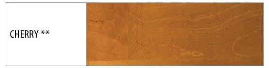Drewmax Manželská posteľ - masív LK111   140cm buk Morenie: Cherry