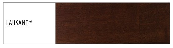 Drewmax Manželská posteľ - masív LK111 | 140cm buk Morenie: Lausane