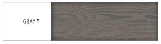 Písací stôl - masív BR109 | borovica Morenie: Gray