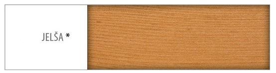 Drewmax Stôl - masív ST103 | 120cm borovica Morenie: Jelša