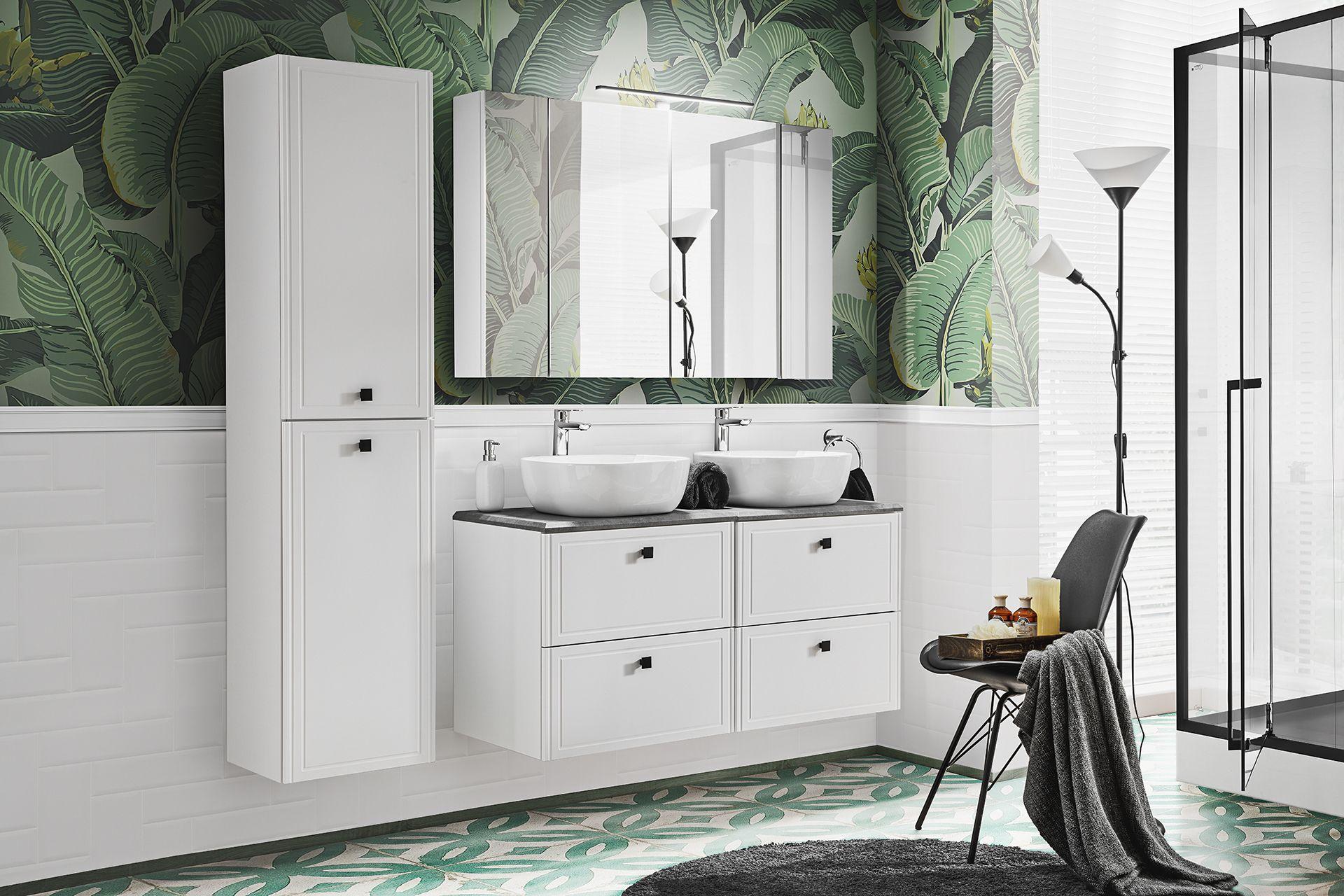 ArtCom Kúpeľňový komplet HAVANA White 120