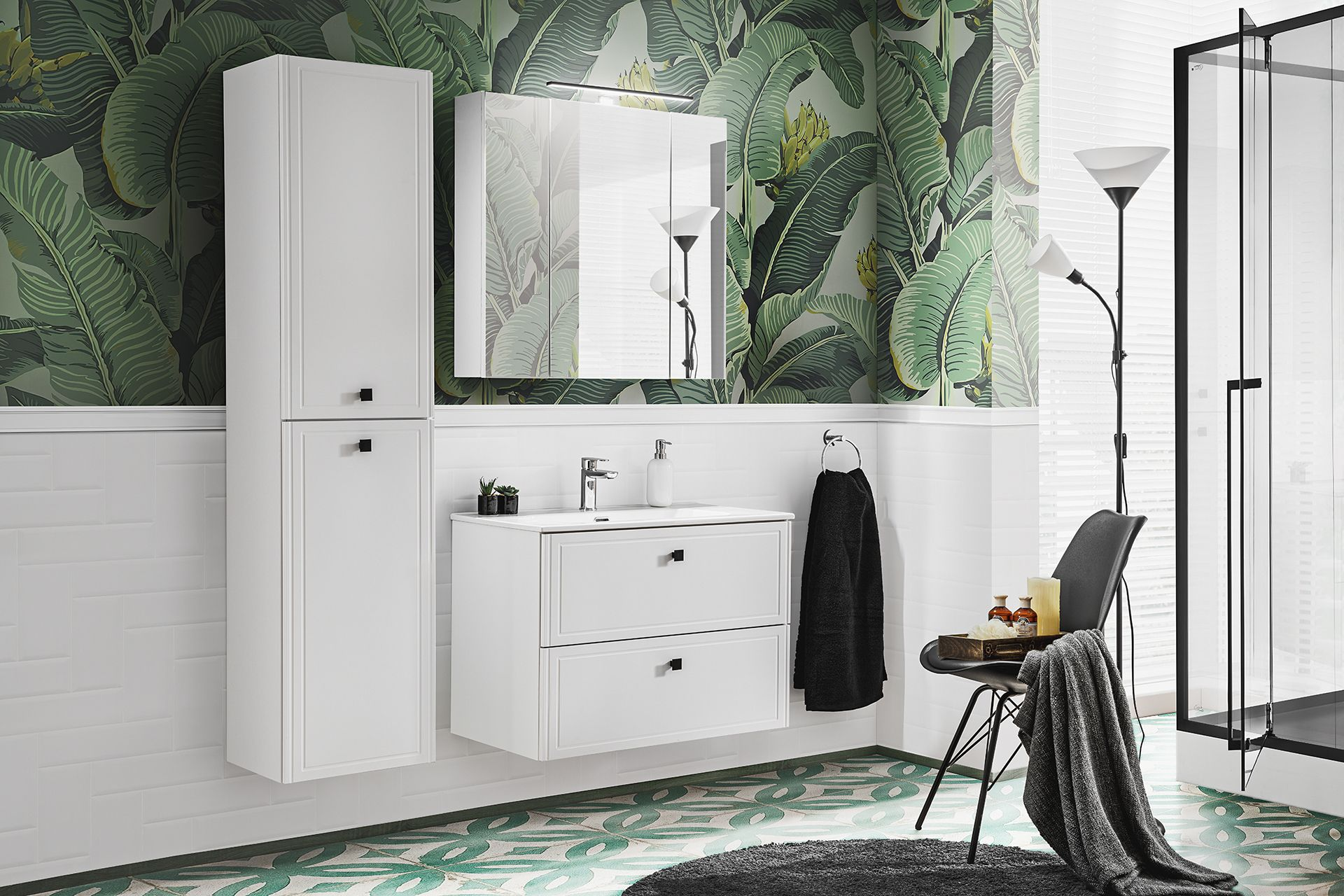 ArtCom Kúpeľňový komplet HAVANA White 80