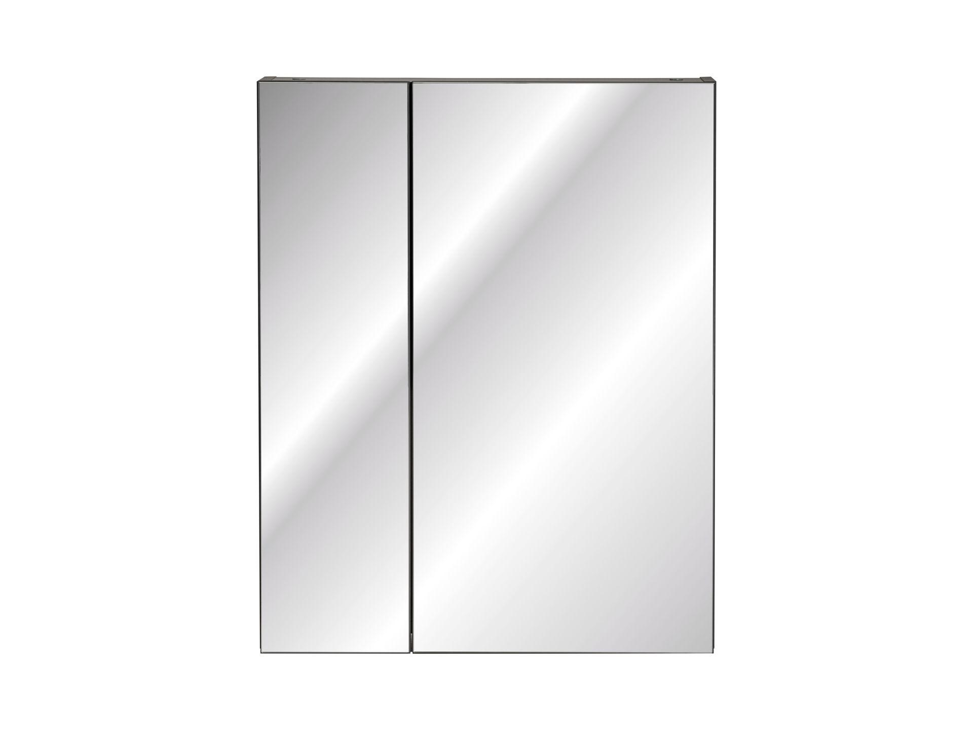 ArtCom Kúpeľňová zostava Monako Grey Oak Monako: Zrkadlová skrinka Monako 840 - 75 x 60 x 16 cm