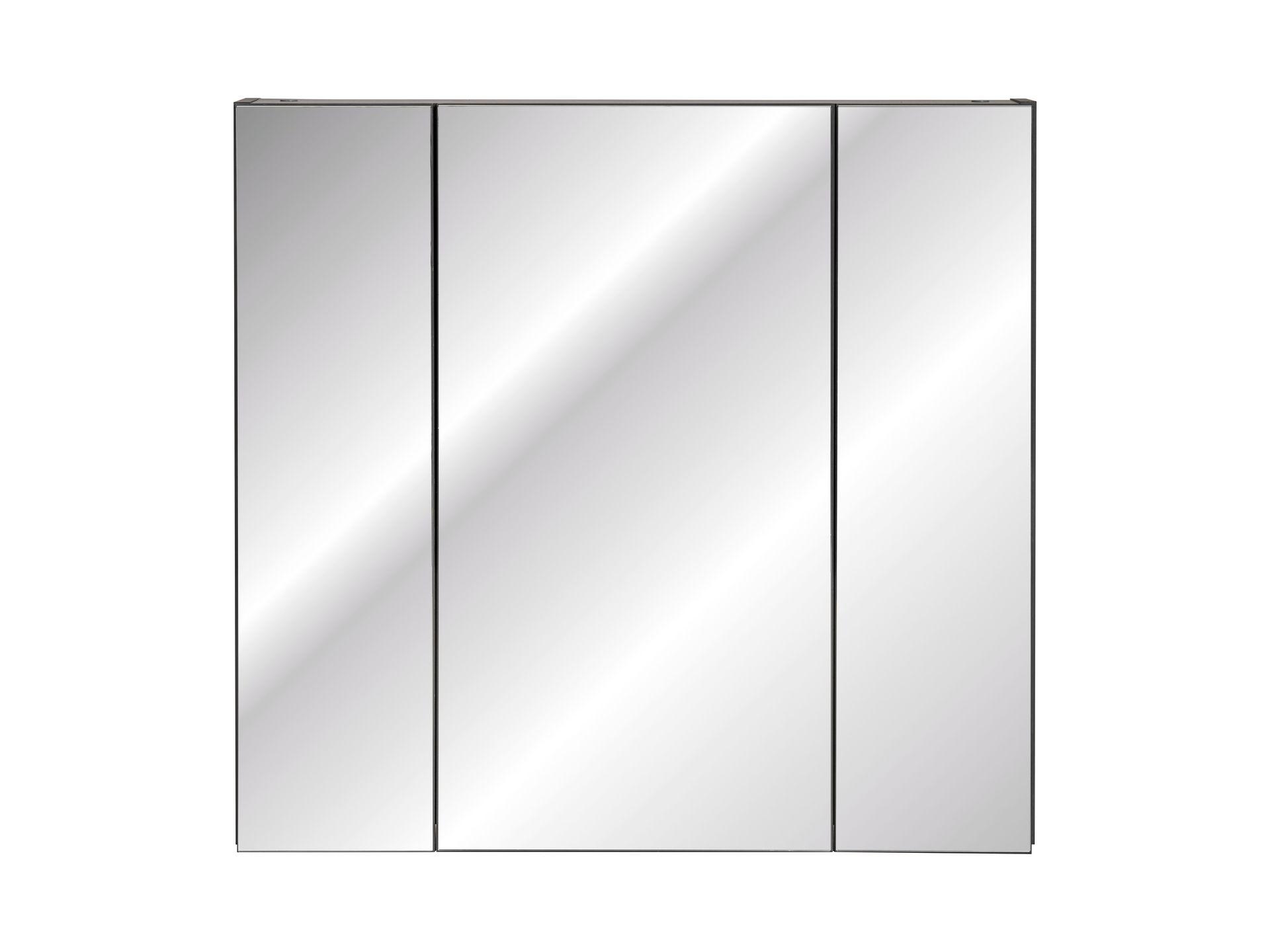 ArtCom Kúpeľňová zostava Monako Grey Oak Monako: Zrkadlová skrinka Monako 841 - 75 x 80 x 16 cm