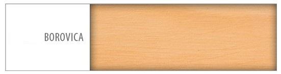 Písací stôl - masív BR102 | borovica Drevo: Borovica