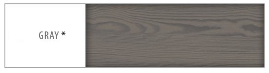 Regál - masív RG122   50cm borovica Farba: Sivá