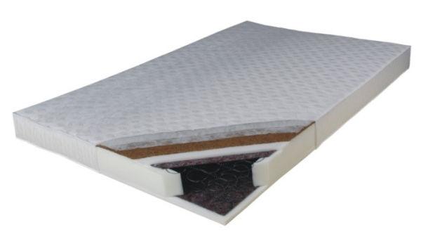 Drewmax Matrac Kokos Medium dvojstranný | 90x200 Rozmer: 90 x 200 cm