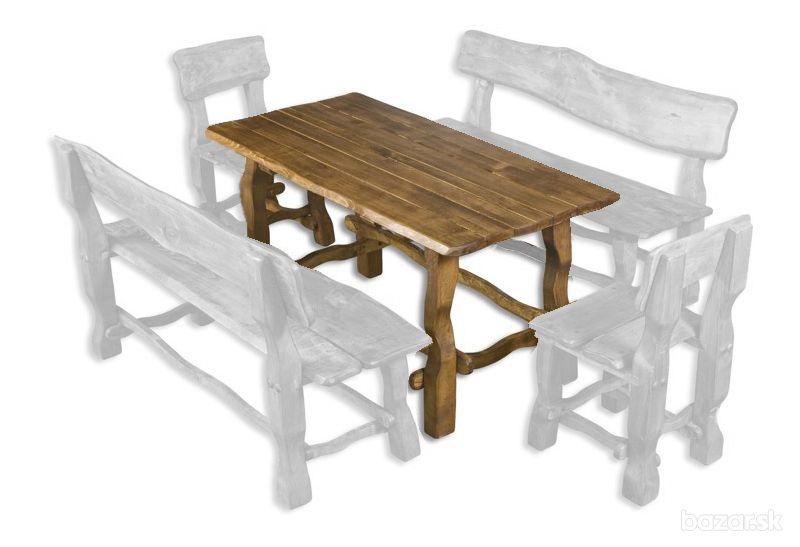 Drewmax Záhradná zostava - masív MO101 Prevedenie: Stôl