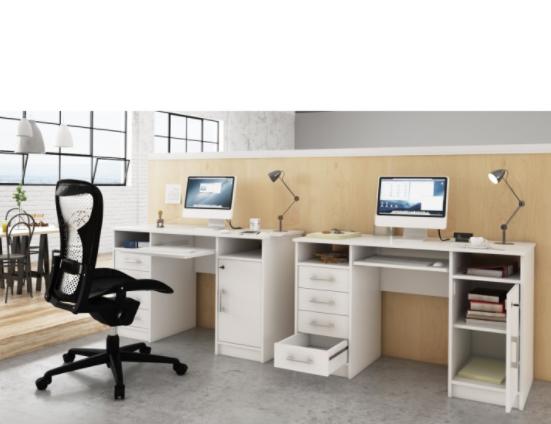 Tempo Kondela PC stolík B9 Farba: Biela