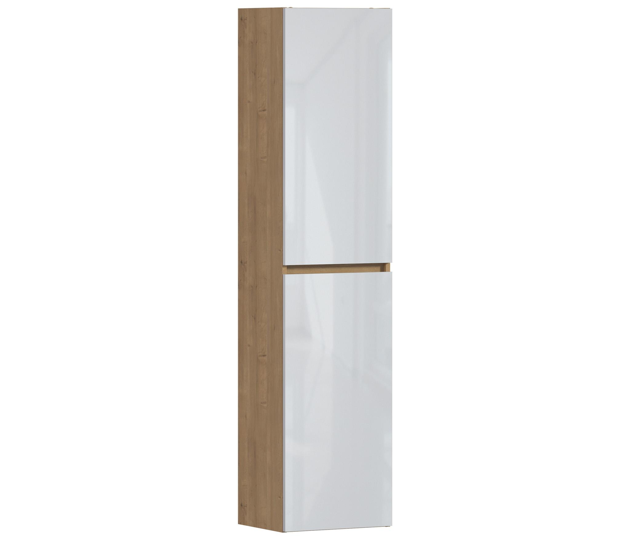 ArtCom Kúpeľňová zostava MONAKO WHITE OAK Monako: Vysoká skrinka Monako 800 - 170 x 40 x 33 cm