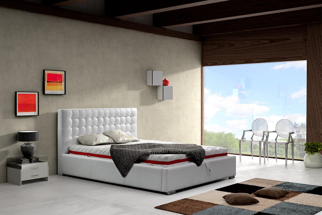 ArtMarz Manželská posteľ Alice Rozmer:: 140 x 200 cm