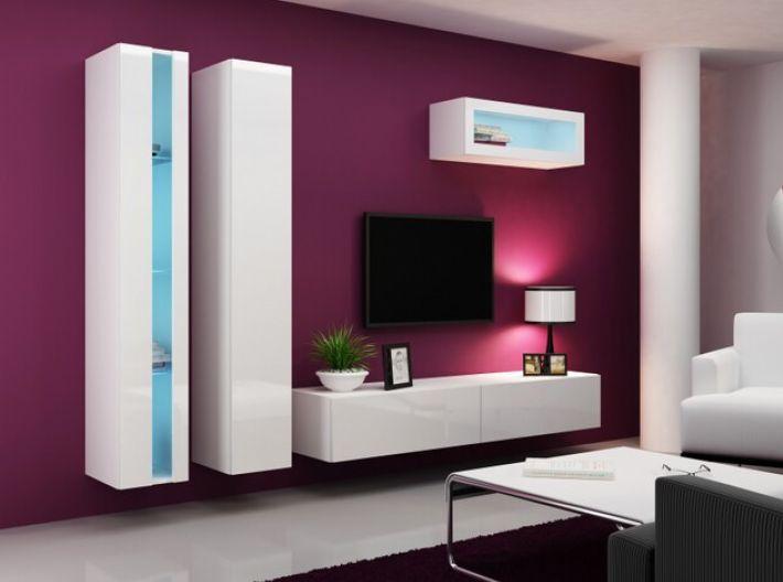 Artcam Obývacia stena Vigo II new biela-biela